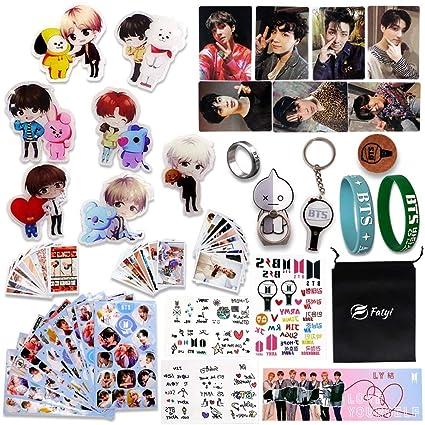 Fatyi BTS Set de regalo, juego de insignias, pegatinas ...