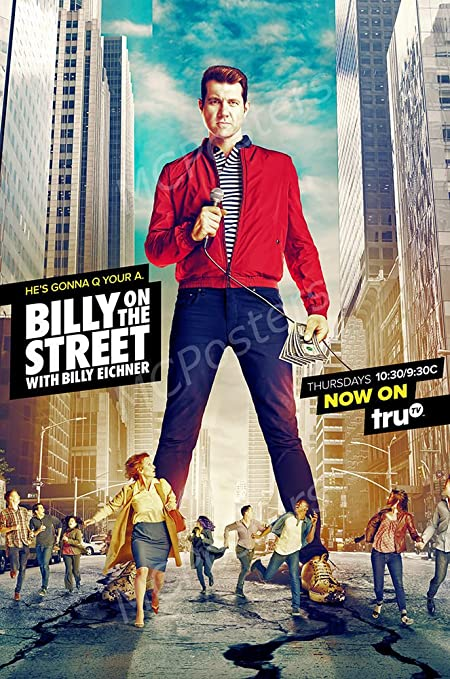 Image result for billy on the street poster