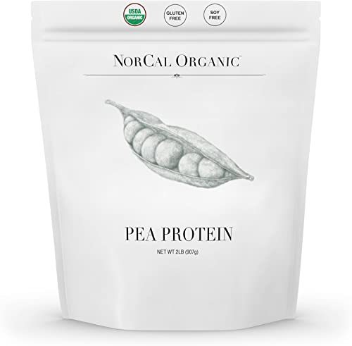 Source Organic – Premium Pea Protein Isolate – 100 Vegan and Organic – UNFLAVORED – Bulk 2lbs