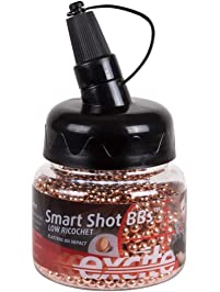 H&N Excite Smart Shot BB Bottle, 0.177 Cal, 7.4 Grains, Copper Plated Lead BBS, 1500 Count
