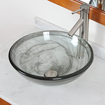 Glass Vessel Sinks For Bathrooms