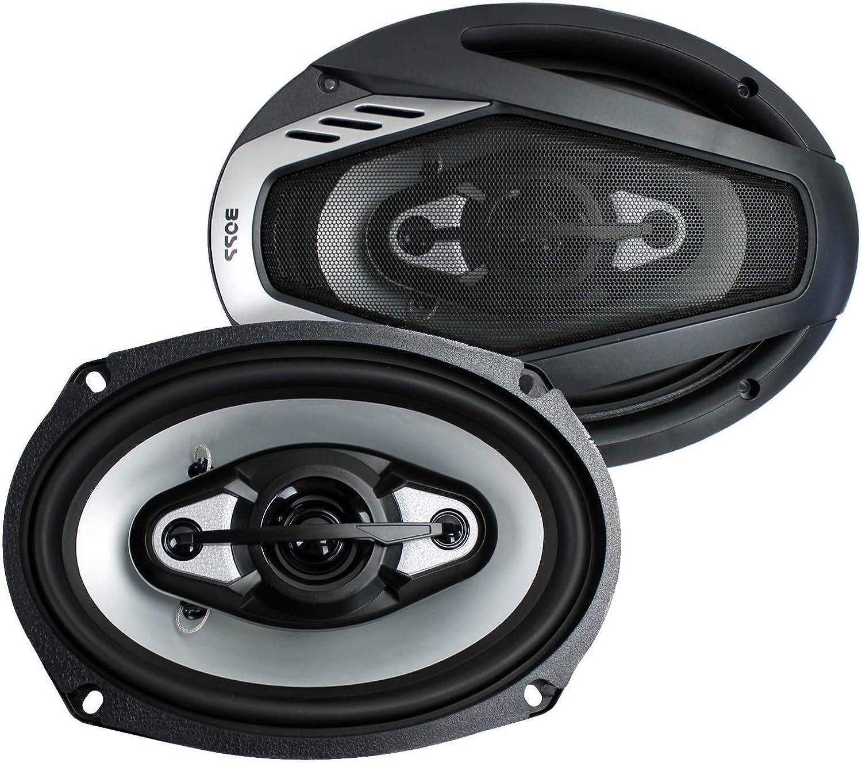 4 New BOSS NX694 6x9 1600W Onyx 4-Way Car Audio Speakers 1600 Watts 2 Pair