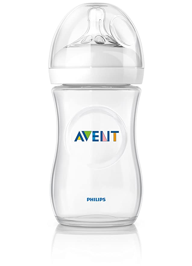 Philips Avent - Kit de 6 biberones, 125/260/330 ml, color transparente