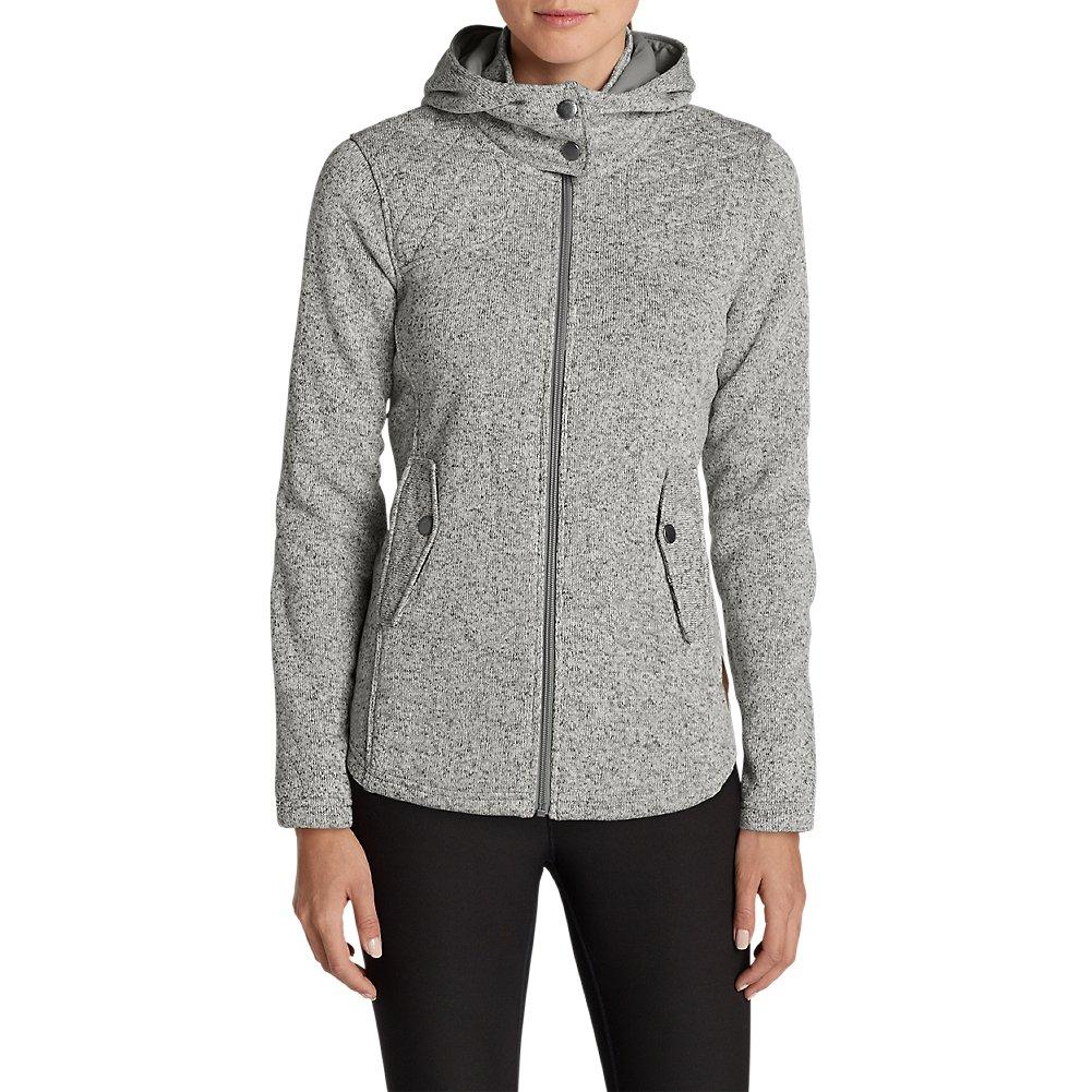 Eddie Bauer Women's Radiator Fleece Cirrus Jacket, Gray Petite L