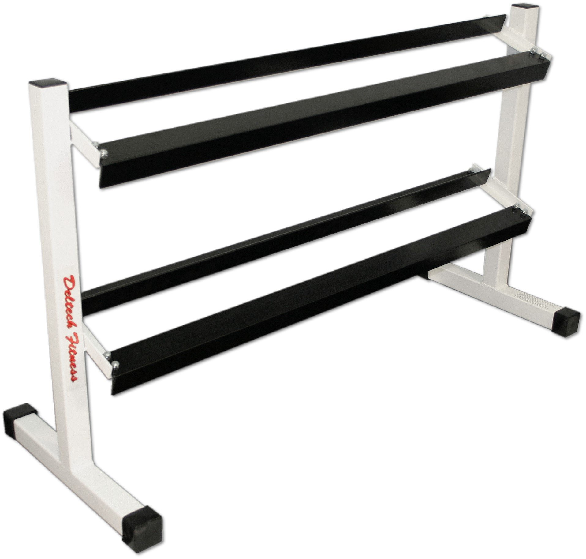 Deltech Fitness Two Tier 54'' Dumbbell Rack
