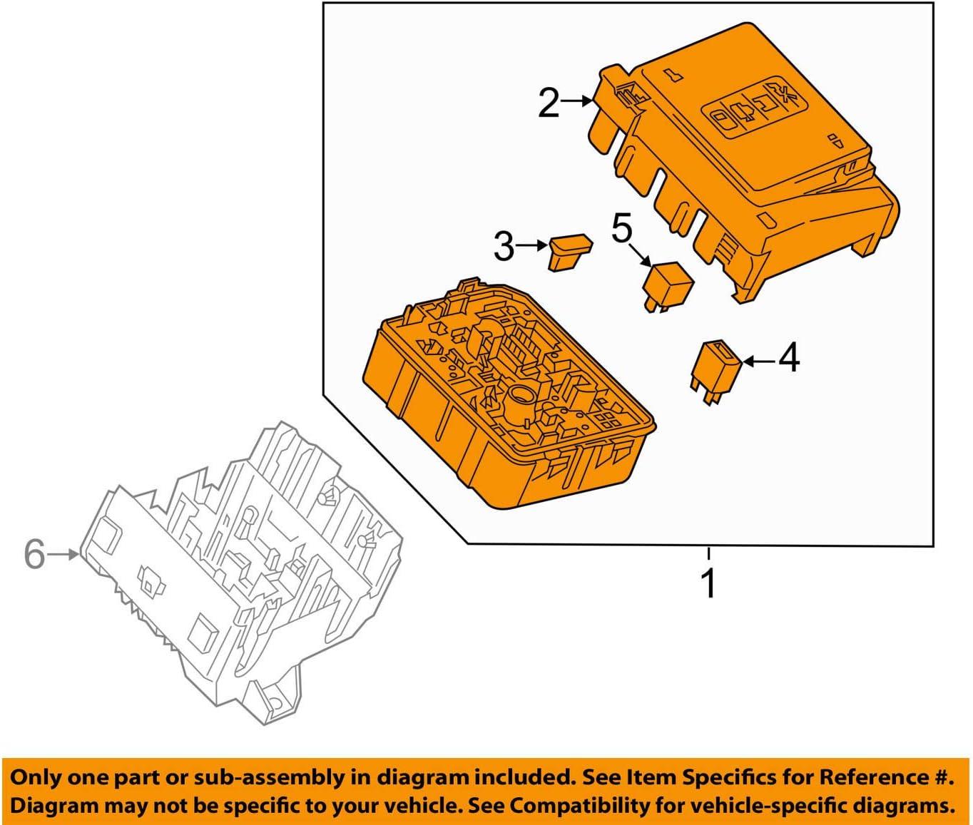 Amazon.com: General Motors Cadillac GM OEM XT5 3.6L-V6-Fuse Box-Fuse &  Relay Box 84003375: AutomotiveAmazon.com