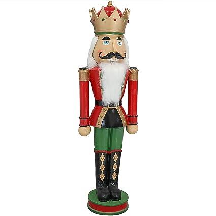 sunnydaze matthias the nutcracker prince indooroutdoor christmas decor polyresin 37 inch
