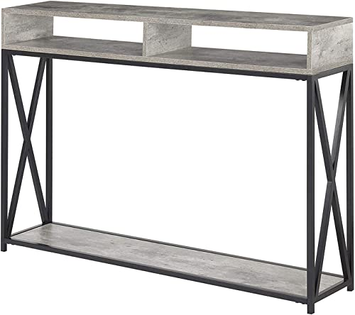 Convenience Concepts 161889C1 Tucson Deluxe 2 Tier Console Table