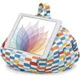 iBeani iPad & Tablet Stand/Bean Bag Cushion Holder for All Devices/Any Angle on Any Surface - Brushstroke Orange