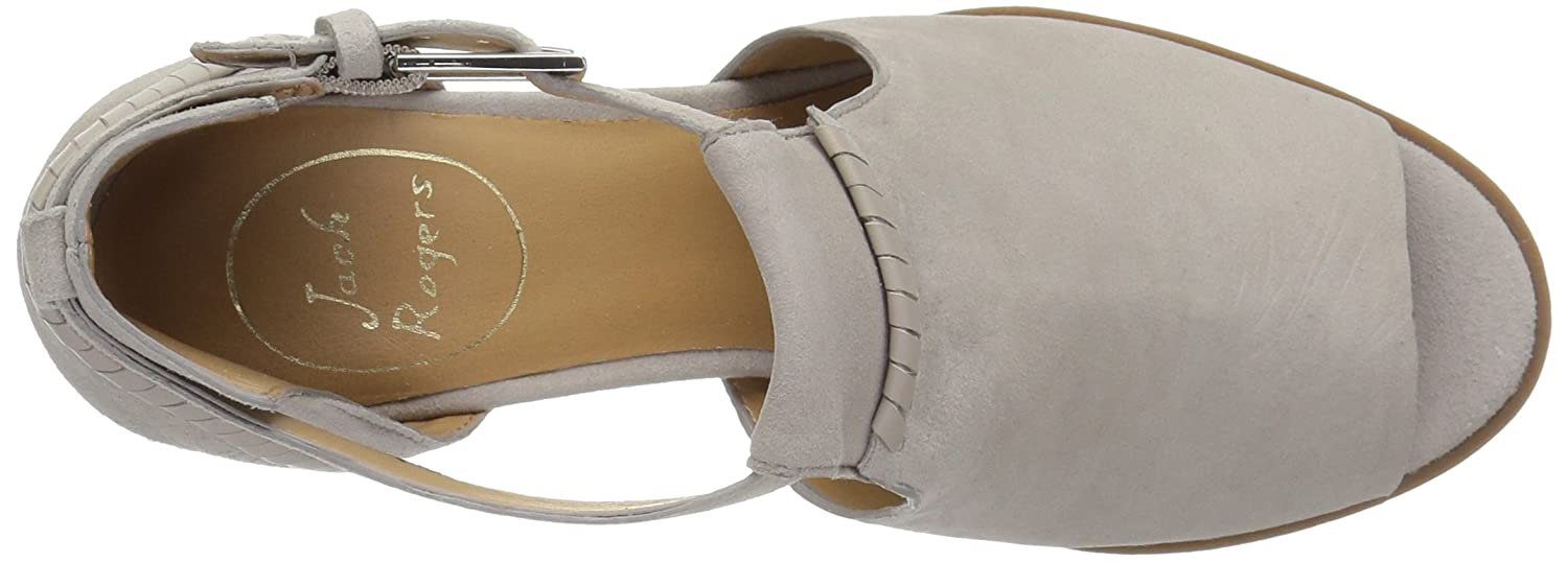Jack Rogers Women's Cameron Suede Fashion Boot B077YL96TX 8 M US|Dove Grey Suede