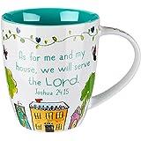 "Everyday Blessings ""Bless Our Home"" Mug - Joshua 24:15"