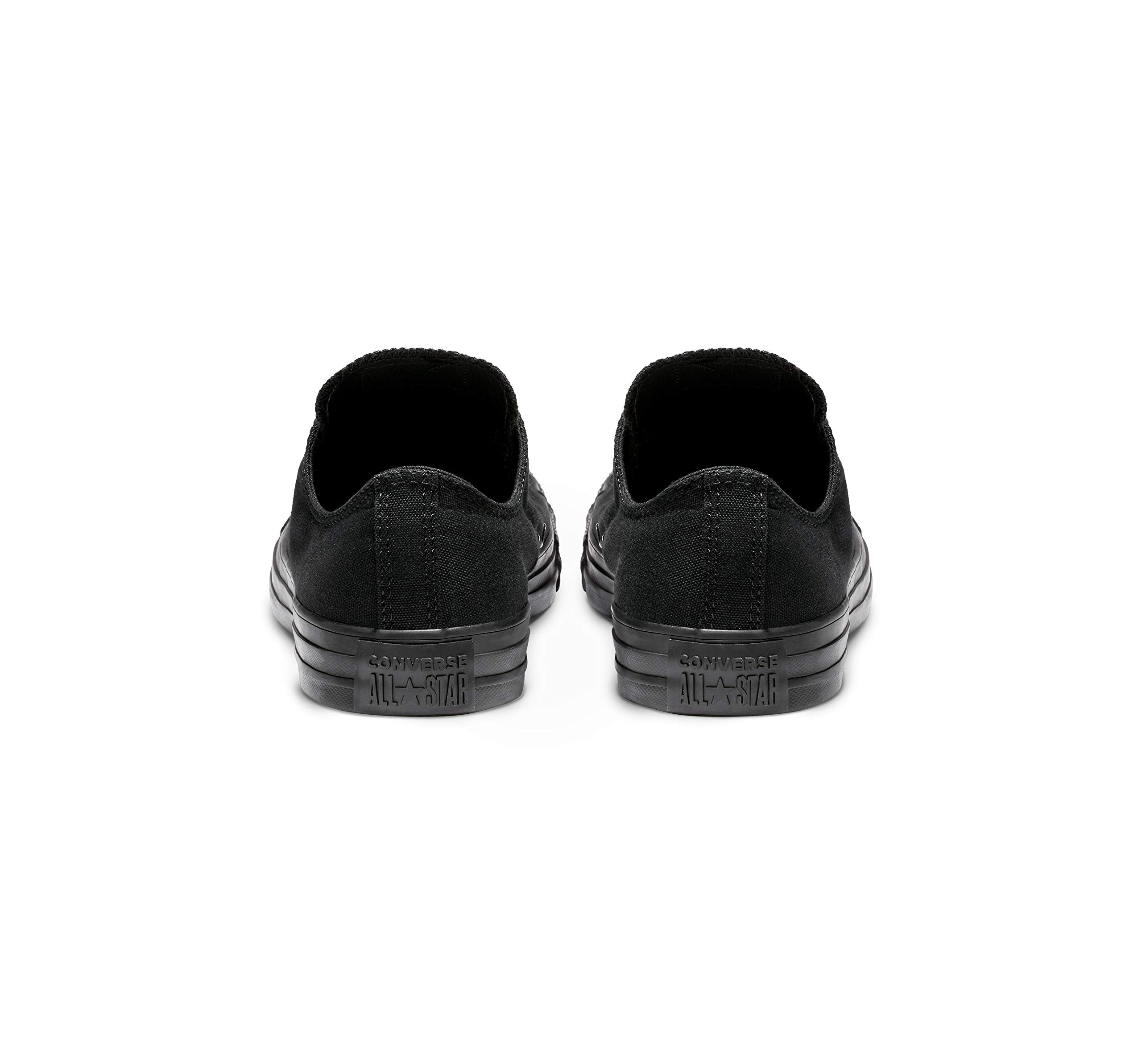 Converse Unisex Chuck Taylor All Star Low Top Black Monochrome Sneakers - 9 D(M) US by Converse (Image #3)