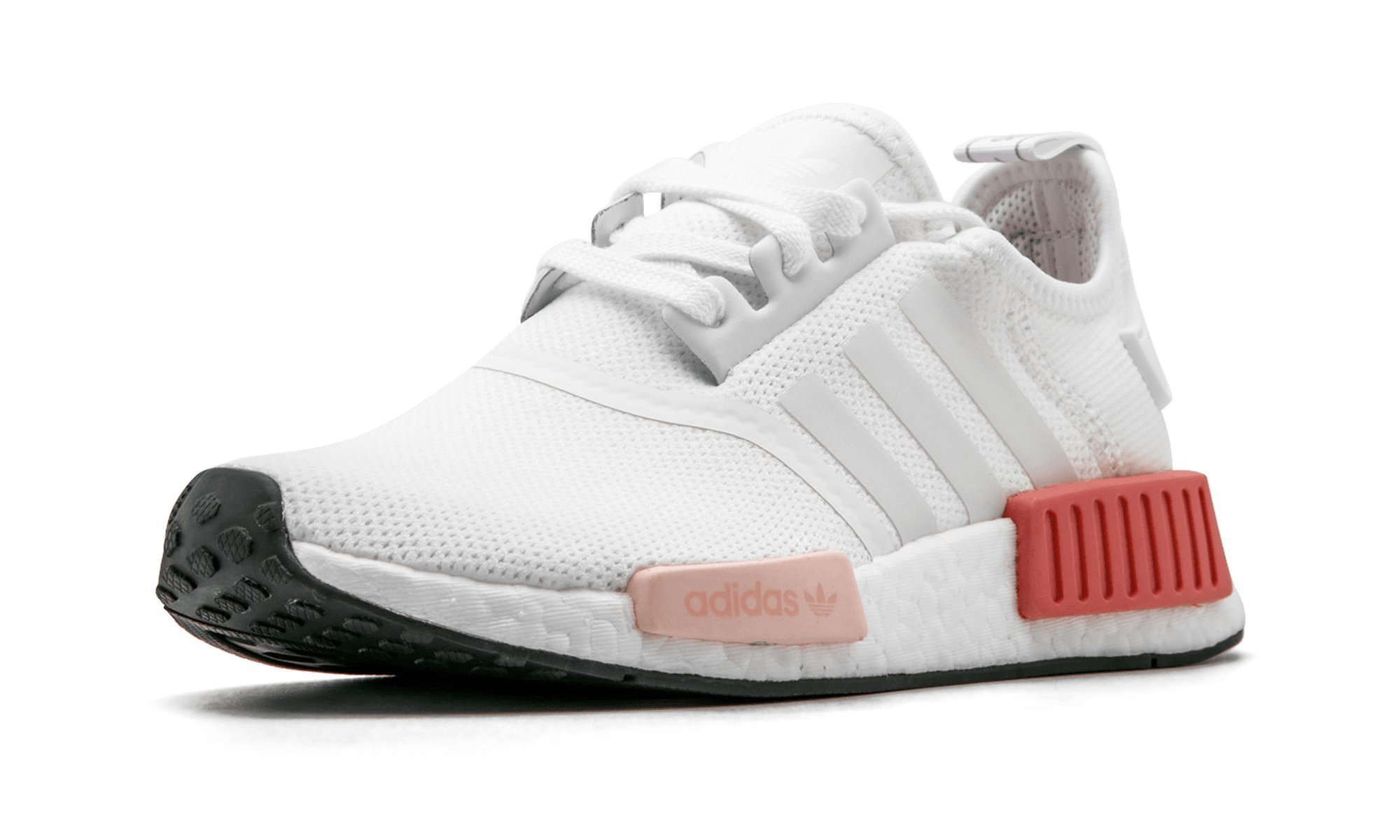 quality design 036c8 69bae adidas Originals Women's NMD_R1 W Running Shoe, White/Icey Pink, 5 M US