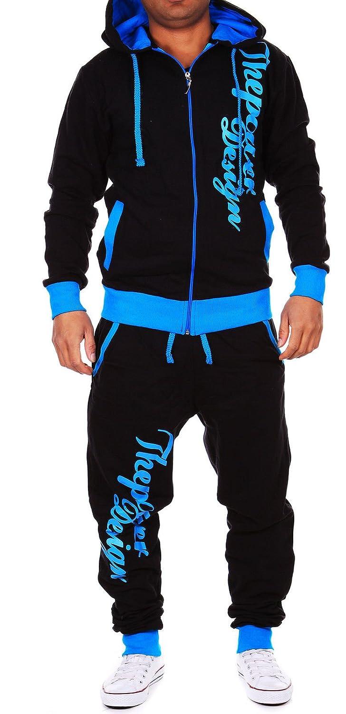 Violento Kinder Jungen Jogginganzug Jogging Hose Jacke Sportanzug Sporthose Fitness Hoodie