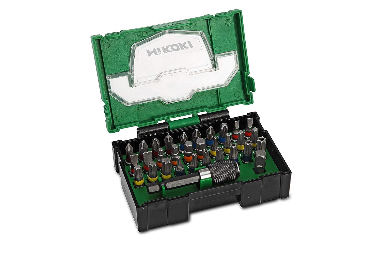 Hitachi 400,300,19 Accessory Juego de puntas para destornillador (32 piezas)