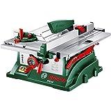 Bosch 0603B03400 PTS 10 Banco Sega, 1400 W, Verde/Rosso/Argento