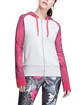 Desigual Mujer Woven Sudadera Camiseta Jacket L Zip, Gris, XS, 67s2sb0: Amazon.es: Deportes y aire libre