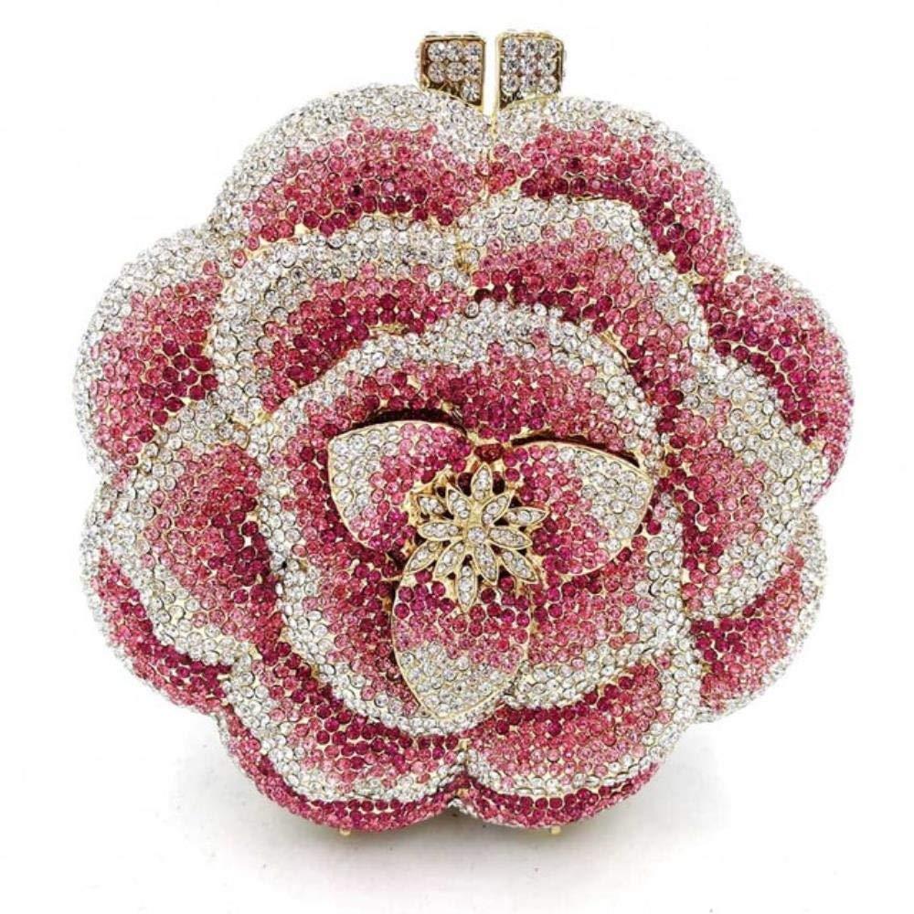 Clutch Bag Pink Crystal...