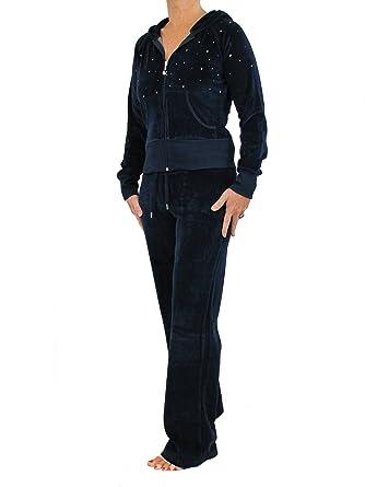 para Mujer Terciopelo Chándal de Brody & Co. Lounge Wear Chándal ...