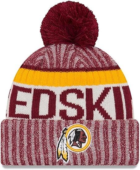 NFL Washington Redskins New Era 2018 Official Cold Weather Sport Knit Unisex