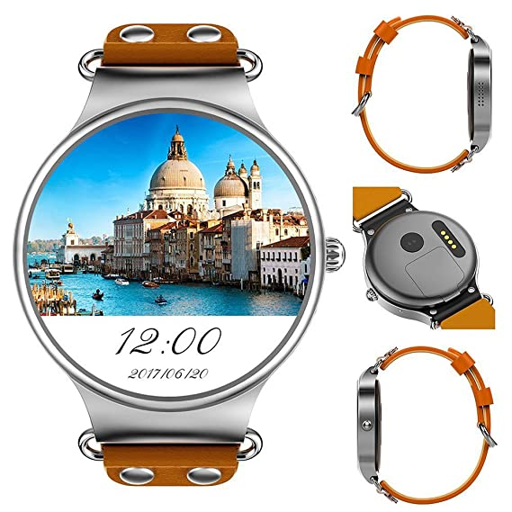 Amazon.com: 3G Bluetooth Smart Watch Phone Android OS 5.1 ...