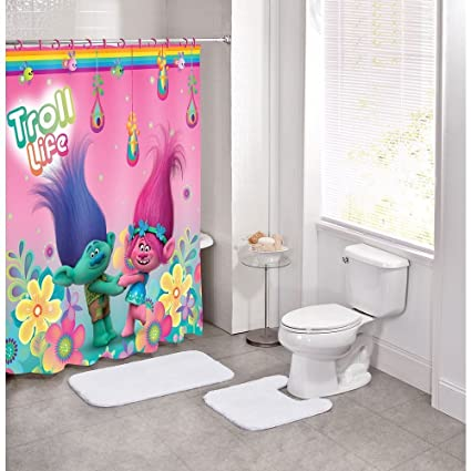 Image Unavailable Not Available For Color Trolls Hugfest Shower Curtain