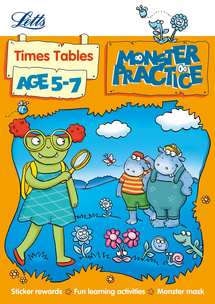 Times Tables Age 5-7 (Letts Monster Practice) ebook