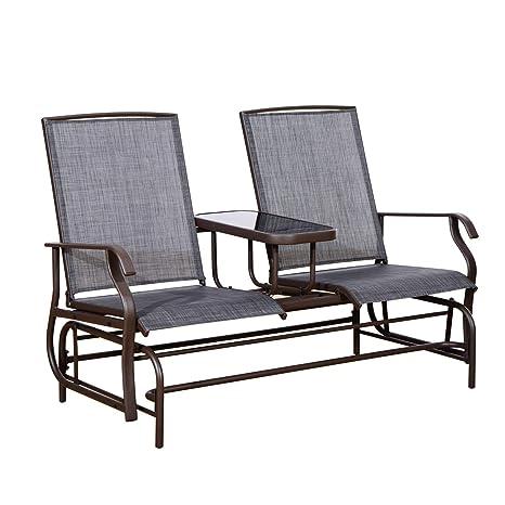 Amazon.com: Balancín para 2 personas con mesa elevada para ...