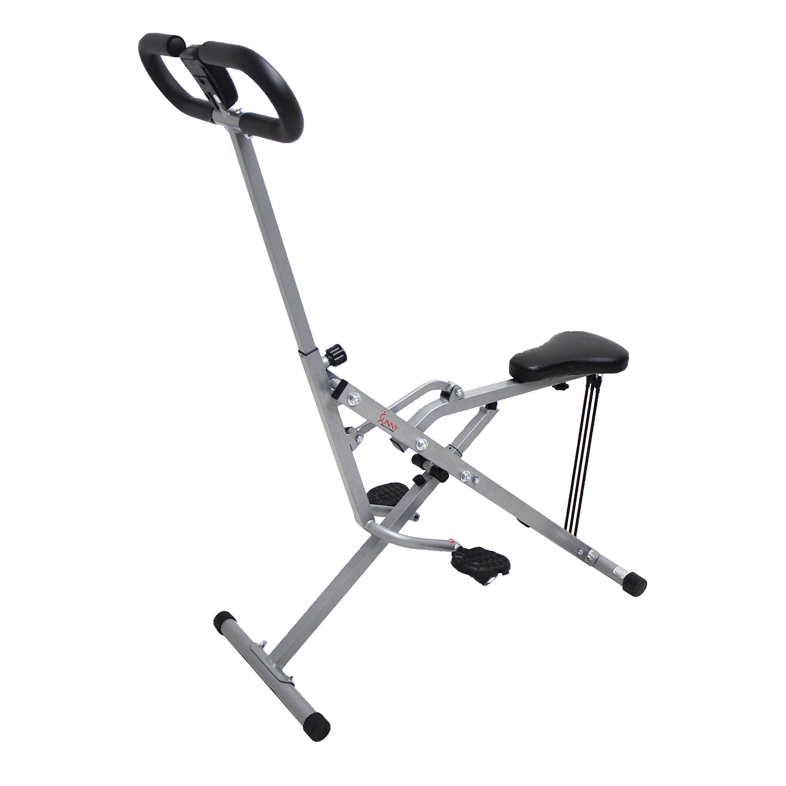 Sunny Health & Fitness Squat Assist Row-N-Ride Trainer for Squat Exercise and Glutes Workout by Sunny Health & Fitness (Image #3)