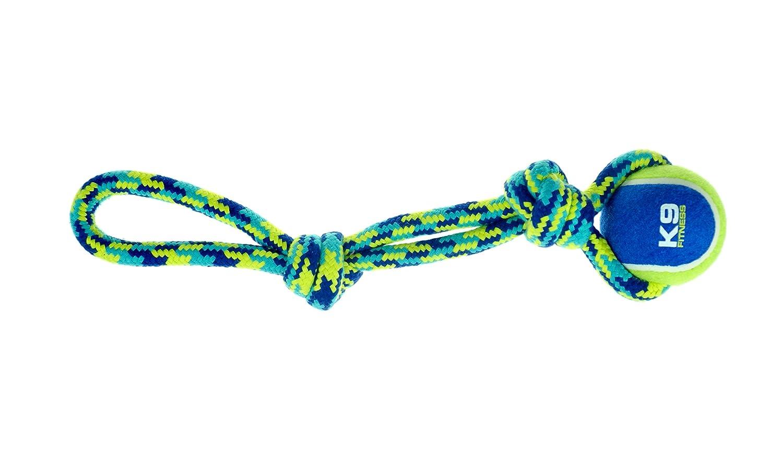 Taza K9 Fitness de Zeus con Cuerda de 17 Pulgadas con Pelota de ...