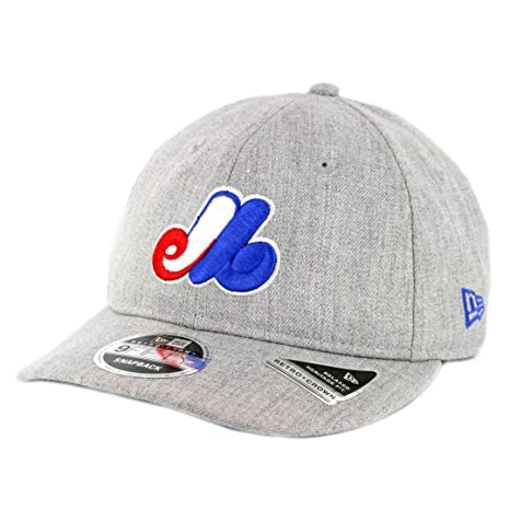 Image Unavailable. Image not available for. Color  New Era 950 Montreal  Expos Heathered Team 1969 Snapback Hat (HGY) Men s Cap b48d41c71185