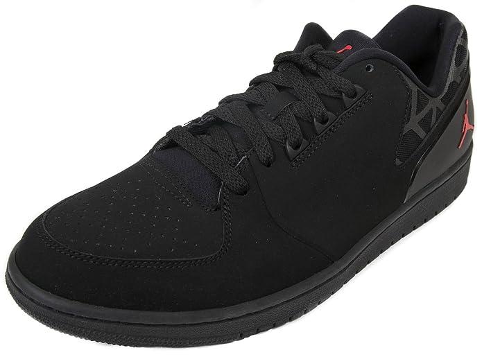 c1c9d99e807 Amazon.com | Jordan 1 Flight 3 Low Menss Basketball Trainers Sneaker Shoes  11.5 D(M) US Black Red | Basketball
