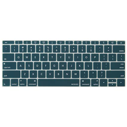 premium selection 01786 d4204 MOSISO Silicone Keyboard Cover Compatible MacBook Pro 13 Inch 2017 & 2016  Release A1708 Without Touch Bar, New MacBook 12 Inch A1534 Protective Skin,  ...