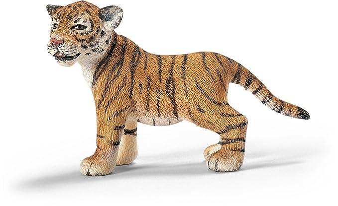 Schleich 14371 wild life tigerjunges stehend: amazon.de: spielzeug
