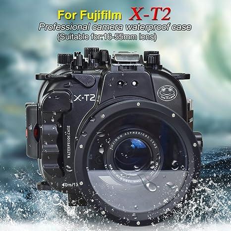 Sea frogs Carcasa acuática para cámara Fujifilm XT2 16-55mm F2.8 R ...