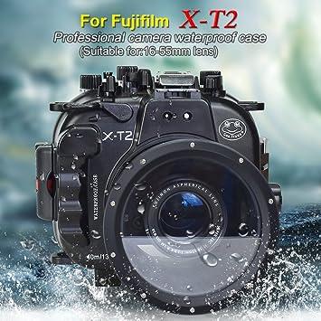 Sea frogs Carcasa acuática para cámara Fujifilm XT2 16-55mm ...