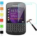 Owbb Protection écran en Verre Trempé pour Blackberry Q10 Smartphone Films de protection Transparents Ultra Clear