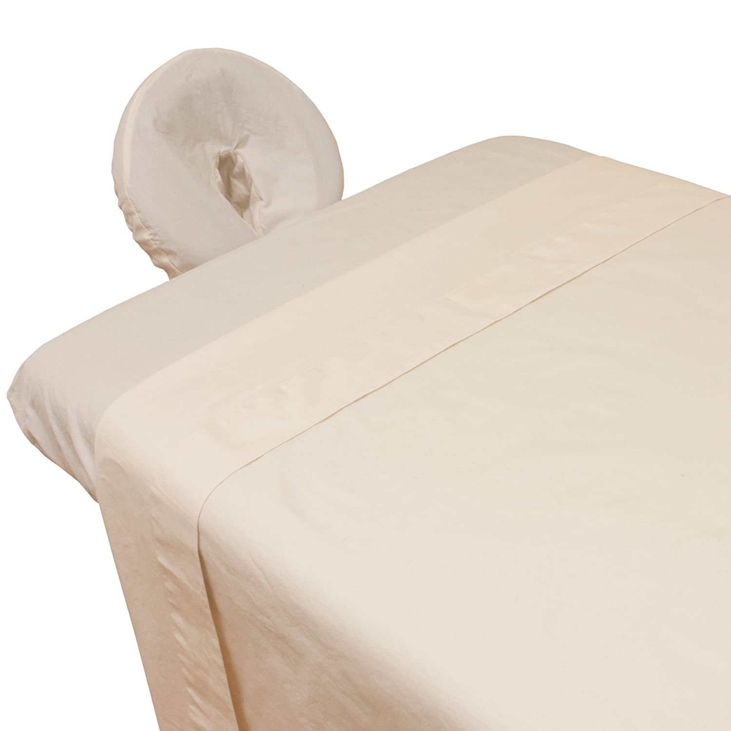 Arcadia© Organic Percale Massage Table Sheet Set Body Linen