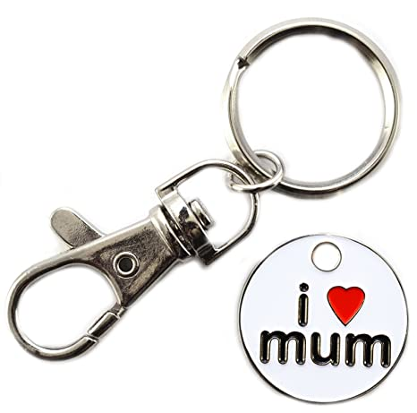 Nueva I Love Mum níquel Locker £1 Token de supermercado ...