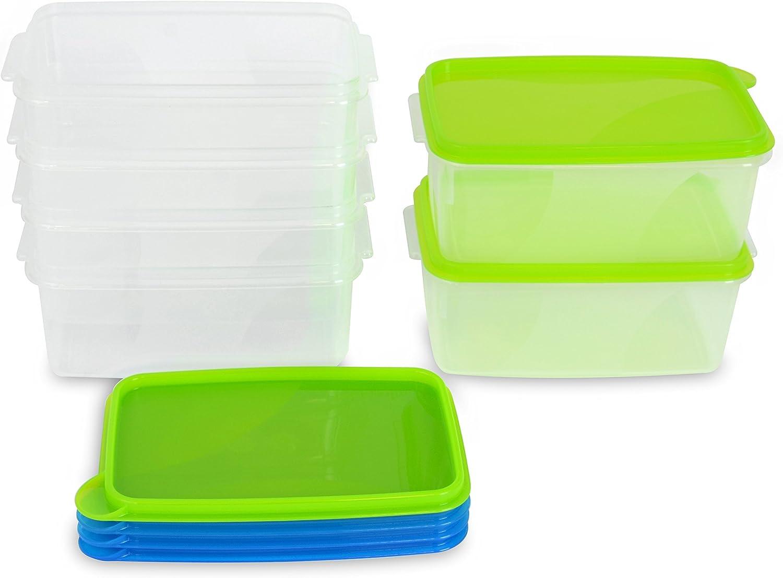 Set mit 4 Behältern 0,25L Fresh/&Go Curver 210476 Lebensmittelbehälter Mehrfarbig