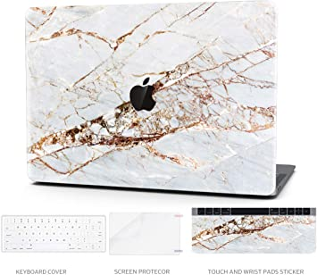 Model:A2289//A2251 Abstract Slash Marble TIMOCY Laptop Case for MacBook Pro 13 Plastic Hard Shell Keyboard Cover Touch Bar 4 in 1 Bundle with Screen Protector for 2020 New MacBook Pro 13