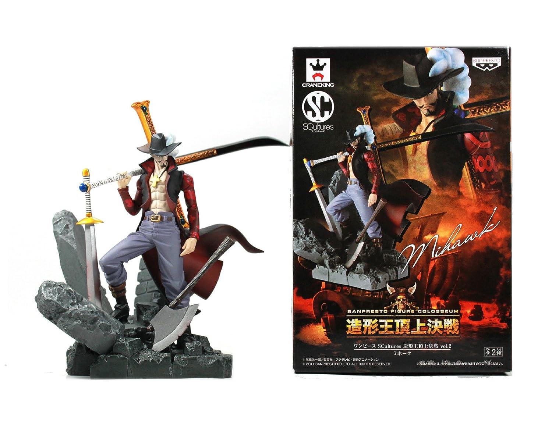Amazon.com: Banpresto One Piece 48057 Colosseum SCultures: Dracule Mihawk  Figure, Volume #2: Toys & Games