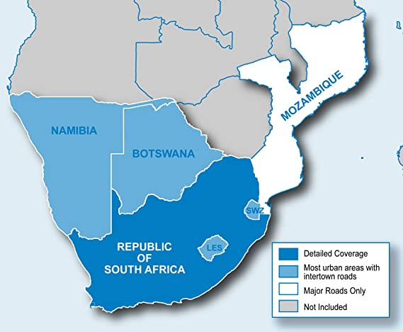 Garmin City Navigator® Southern Africa NT and MicroSD/SD Card