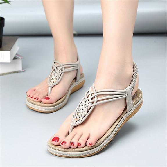 1ed84b6c2f5978 Socofy Bohemian Sandals for Women