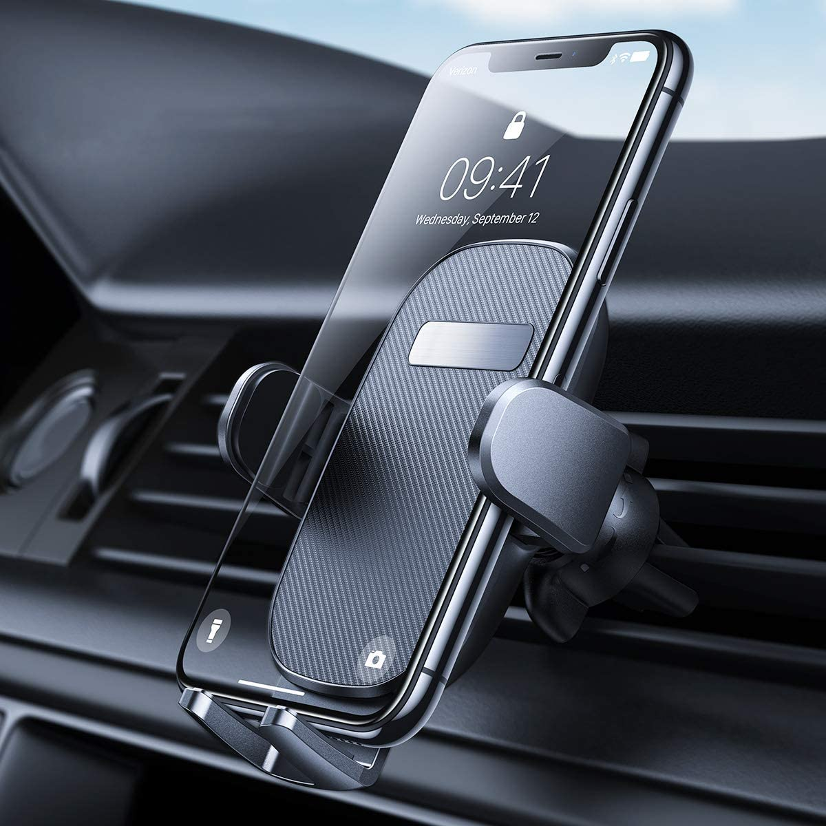 2020 Upgraded Case Friendly 360/° Rotation Compatible with All Smartphone AINOPE Car Vent Phone Mount Phone Holder for Car Car Cell Phone Mount Car Holder for Cell Phone Strong Grip