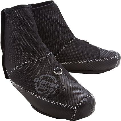SOOMOM Black Cycling Shoe Covers Waterproof Winter Warmer Protector Overshoes