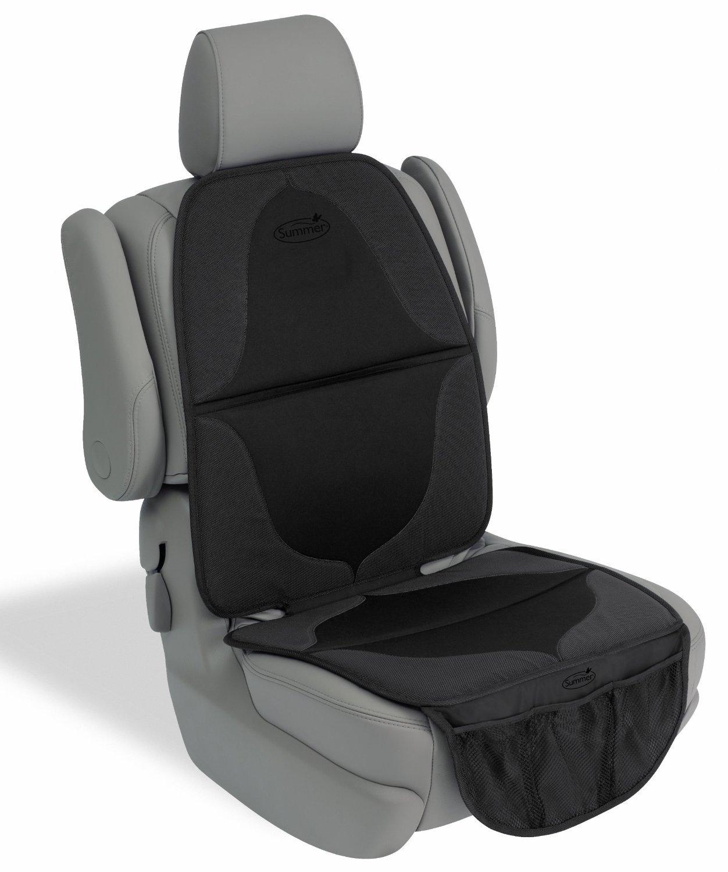 Summer Infant Elite DuoMat for Car Seat, Black, 4 Count
