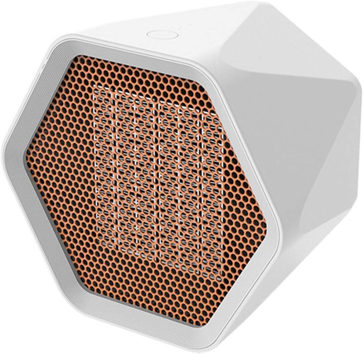 Clenp Calefacción De La Sala De Calderas con Control Inteligente De Temperatura, Mini Termoventilador Eléctrico con Elemento Calefactor Cerámico Y Protección contra Sobrecalentamiento, 600W / 1000W