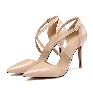 Amazon Rongzhi Womens Strap Pumps Stilettos High Heels Sandals