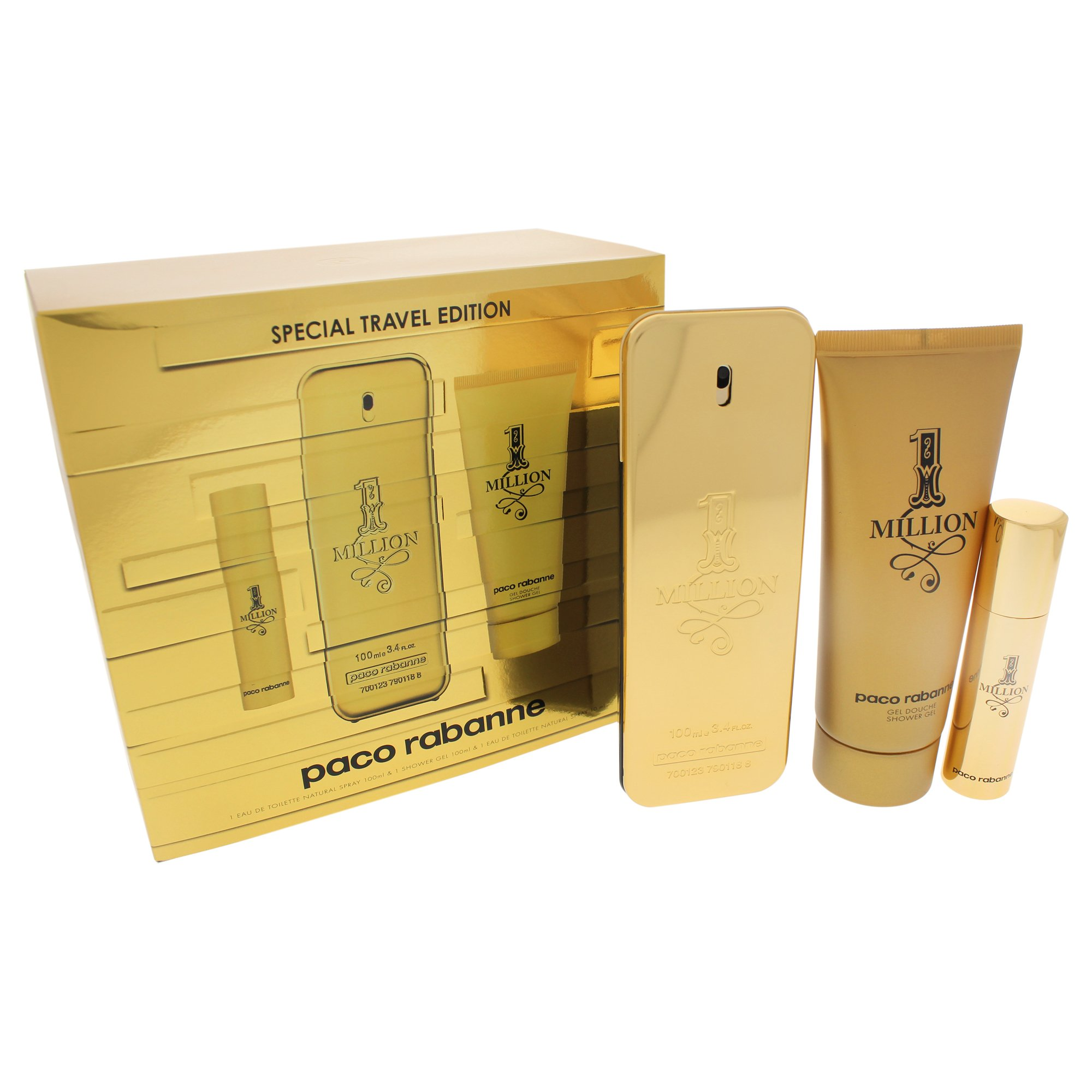 Paco Rabanne 1 Million Fragrance Set for Men by Paco Rabanne